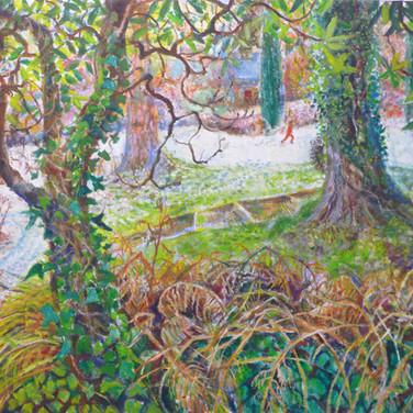 Sarah Longley: 'The Sunken Garden in Winter'