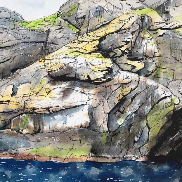 Boreray Sea Cave - Isabel Mcleish
