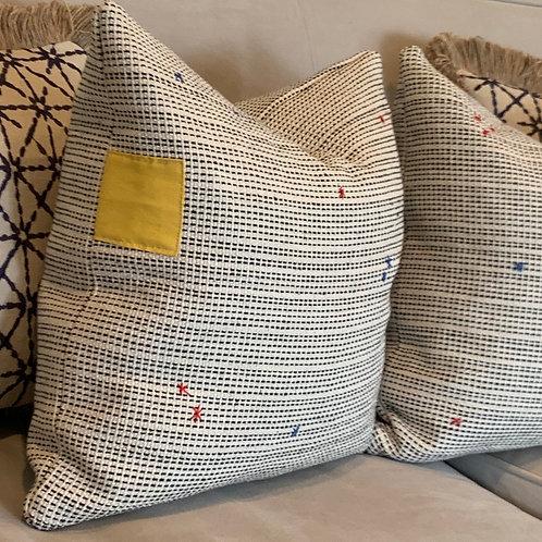 Sun & Bugs pillow