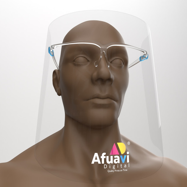 Face Shield model visualize