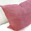Thumbnail: Pink pillow orange stitched boarder