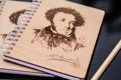 Блокноты с изображением А.С. Пушкина