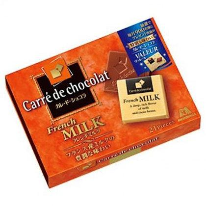 森永 Carre de Chocolate 法式牛奶朱古力