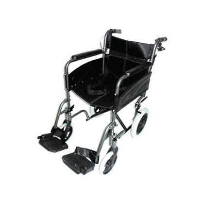 輕巧式鋁合金輪椅 (黑色)