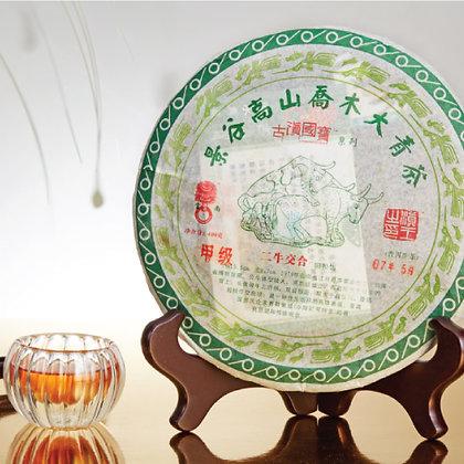 景谷高山喬木大青茶 (普洱生茶) [400g]
