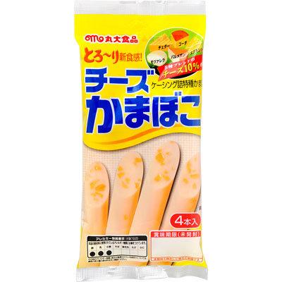 丸大芝士魚肉腸 (4條)