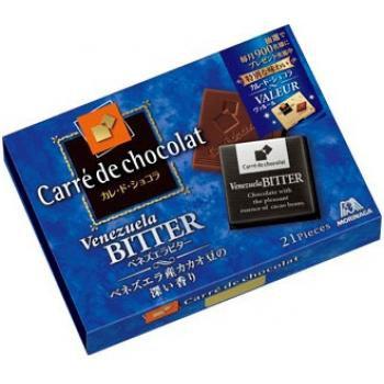 森永 Carre de Chocolate 委內瑞拉黑朱古力