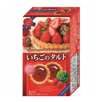 伊度草莓撻
