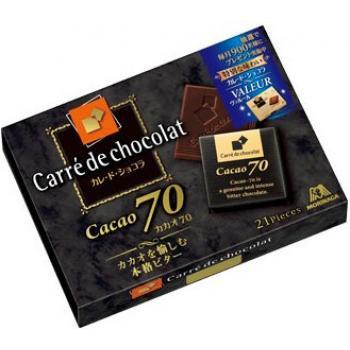 森永 Carre de Chocolate 70%可可朱古力