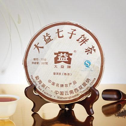 大益七子餅茶 (普洱茶-熟茶) [357g]