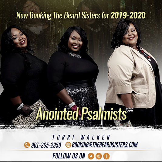 Now Booking The Beard Sisters for 2019-2