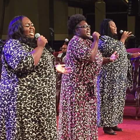 Sisters at 2015 COGIC Holy Convocation