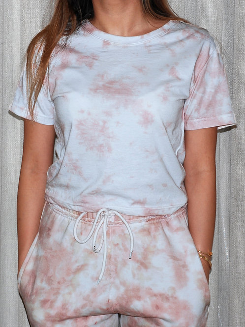 Rose Gold Cropped T-Shirt
