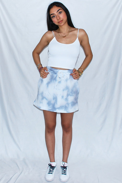 Denim Fade Skirt