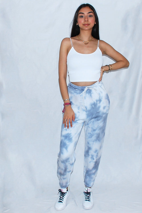 Denim Fade Sweatpants