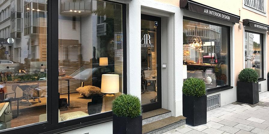 Showroom AR Interior Design GmbH im Lehell