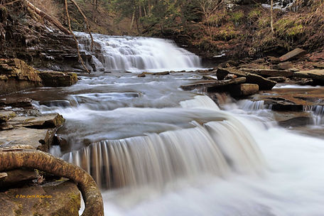 Salt Spring Fall Brook Falls