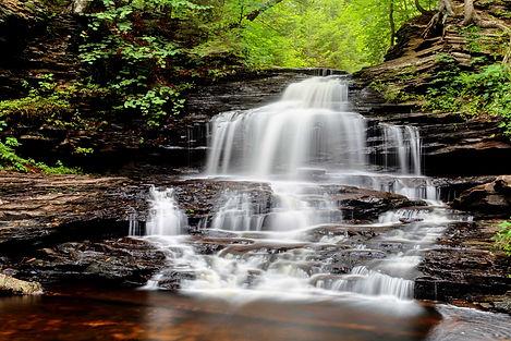 Rikts Glen Pennsylvania Waterfall Photography
