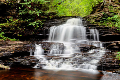 Rikts Glen Pennsylvania Waterfall Photography