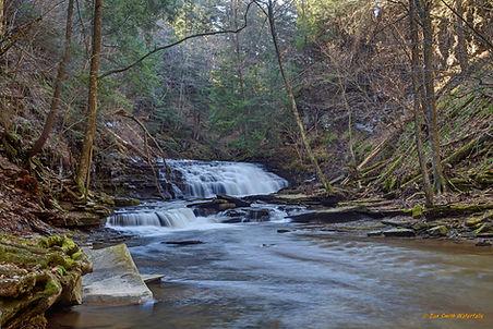 Salt Spring's Fall Brook Lower Falls