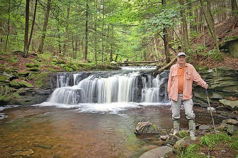 Dan at Rusty Falls