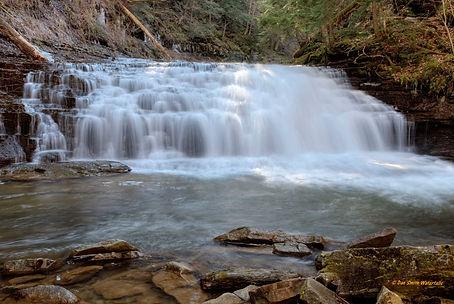 Fall Brook's Lower Falls