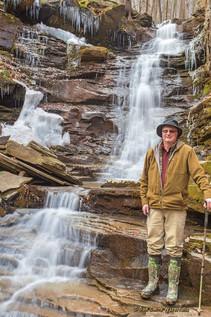 Dan at Andrea Falls