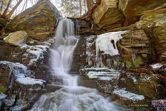 Bowling Alley Falls Bradford County PA