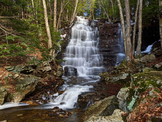 Buttermilk Falls at Bear Creek
