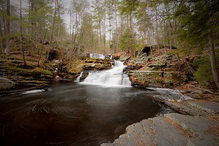 Factory Falls Pennsylvania waterfall