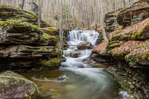 Miiners Run Falls Rock Run Road