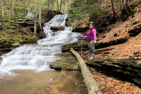 Debra at Hounds Run Falls