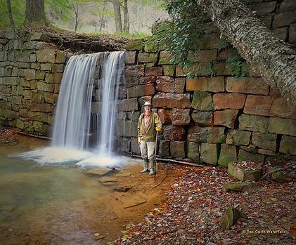 Dan at Henry's Run Dam