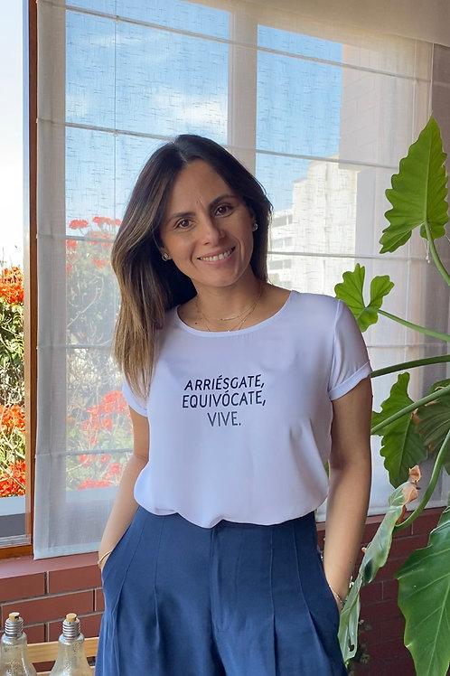 T-shirt Arriésgate