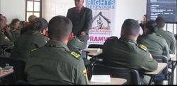 Capacitacion y certificacion a la Escuela de Guías de la Policía