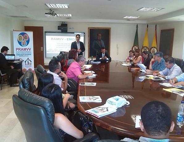 Capacitación a Gobernaciones y Alcaldias en atencion Integral a victimas