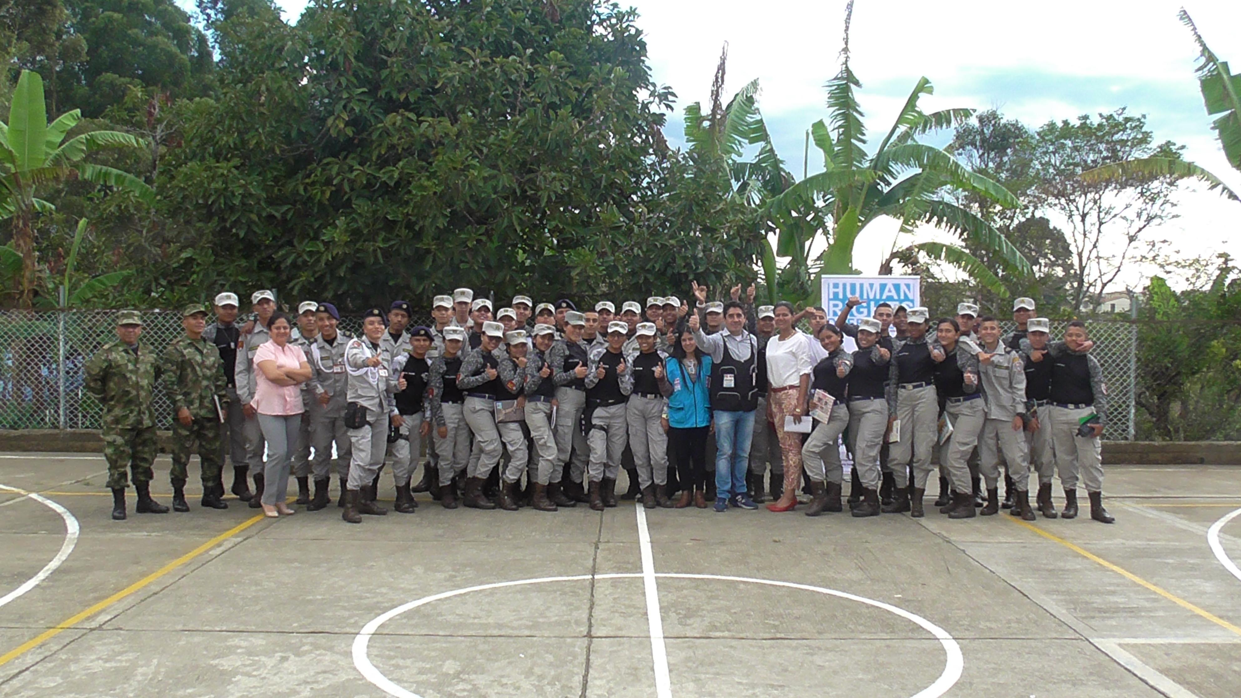 Capacitación Colegio Militar