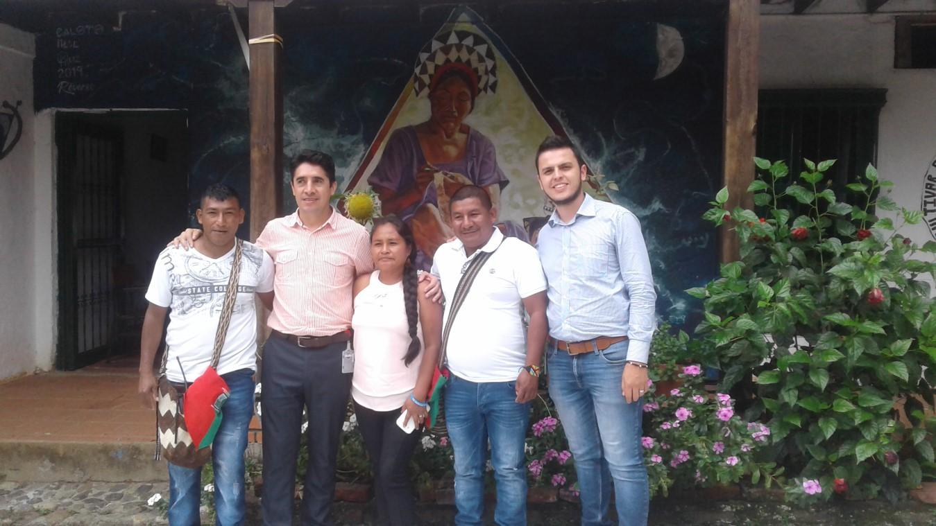 ENCUENTRO CON LAS DIRECTIVAS DE LA GUARDIA INDIGENA