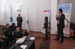 Ceo de Human Rights Defenders FFMM