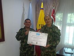 Capacitación Ejército Nacional FFMM