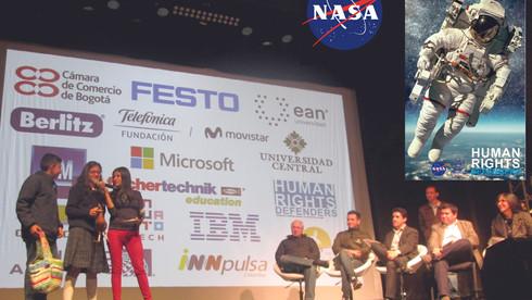 STEM + Human Rights + NASA