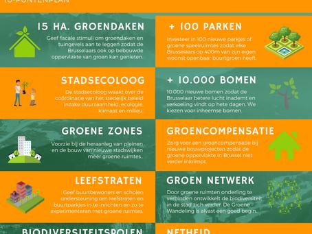 Groenplan voor betere levenskwaliteit  in Brussel
