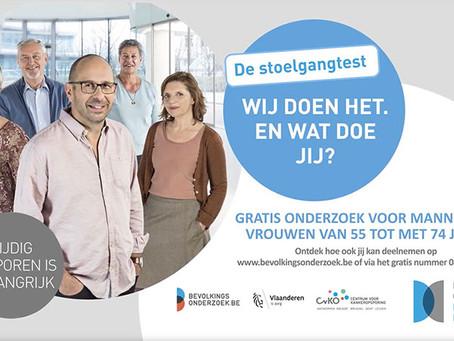 Naar betere, tweetalige communicatie rond dikkedarmkanker in Brussel