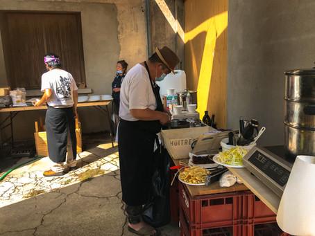 Visite, dégustation et déjeuner à la brasserie Les Larmes du Levant