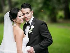 Black Tux Wedding