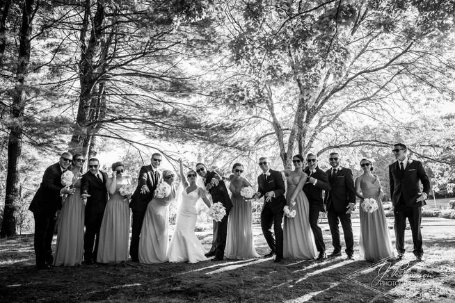 Charcoal Tuxedo Wedding