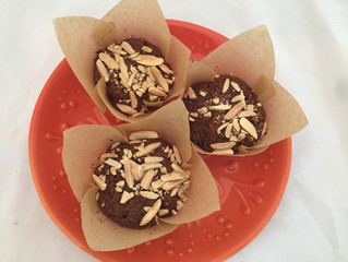 Paleo Carrot Ginger Muffins
