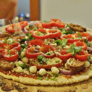 Gluten-free Against the Grain Pizza