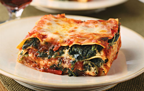 Gluten Free Spinach And Cheese Lasagna