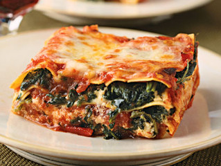 Gluten-free Spinach and Cheese Lasagna